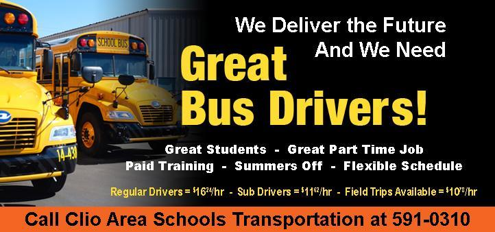Bus Driver Training Flyer